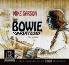 MIKE GARSON The Bowie Variations for Piano album cover