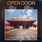 MIKE NOCK Mike Nock & Frank Gibson Jr. : Open Door album cover