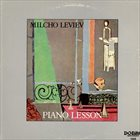 MILCHO LEVIEV Piano Lesson album cover