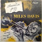 MILES DAVIS Classics In Jazz album cover