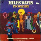 MILES DAVIS In Concert: Live at Philharmonic Hall album cover