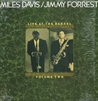 MILES DAVIS Live at the Barrel - Volume Two album cover