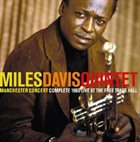 MILES DAVIS Manchester Concert Complete 1960 Live At The Free Trade Hall album cover