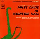 MILES DAVIS Miles Davis at Carnegie Hall album cover