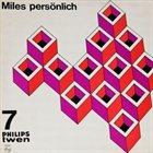 MILES DAVIS Miles persönlich album cover