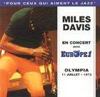 MILES DAVIS Olympia 11 Juillet 1973 album cover