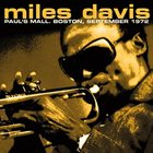 MILES DAVIS Paul's Mall. Boston September 1972 album cover