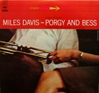 MILES DAVIS Porgy and Bess album cover