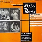 MILES DAVIS Young Man With a Horn album cover