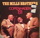THE MILLS BROTHERS Copenhagen '81 album cover