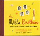 THE MILLS BROTHERS Famous Barber Shop Ballads, Volume One album cover