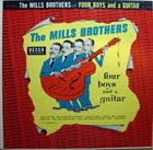 THE MILLS BROTHERS Four Boys And A Guitar album cover