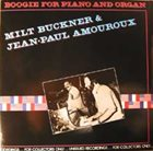 MILT BUCKNER Boogie For Piano And Organ album cover