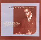 MILT JACKSON Early Modern album cover