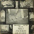 MILT JACKSON Milt Jackson Quintet album cover