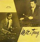 MILT JACKSON Milt Jackson - Terry Gibbs : Milt & Terry album cover