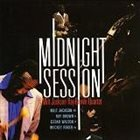 MILT JACKSON Milt Jackson with Ray Brown ‎: Midnight Session album cover