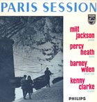 MILT JACKSON Paris Session album cover