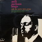 MILT JACKSON Sings With The Enrico Intra Group album cover