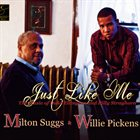MILTON SUGGS Just Like Me: The Music of Duke Ellington and Billy Strayhorn album cover