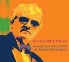 MIRAGE JAZZ ORCHESTRA My Favourite Things album cover
