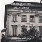 MIROSLAV VITOUS Miroslav Vitous And Emil Viklicky : Moravian Romance album cover
