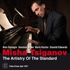 MISHA TSIGANOV The Artistry Of The Standard album cover