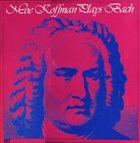 MOE KOFFMAN Moe Koffman Plays Bach album cover