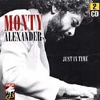 MONTY ALEXANDER Just in Time album cover