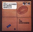 MONTY ALEXANDER Monty Alexander, Ray Brown, Herb Ellis : Overseas Special album cover