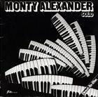 MONTY ALEXANDER Solo album cover