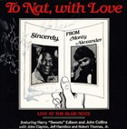MONTY ALEXANDER To Nat, With Love album cover