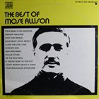 MOSE ALLISON The Best of Mose Allison album cover