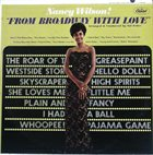 NANCY WILSON From Broadway With Love album cover