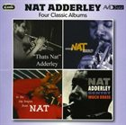 NAT ADDERLEY Four Classic Albums album cover