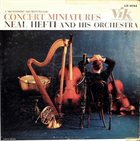 NEAL HEFTI Neal Hefti And His Orchestra : Concert Miniatures album cover