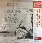 NEW YORK TRIO Begin the Beguine album cover