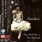 NEW YORK TRIO New York Trio & Ken Peplowski ‎: Stardust album cover