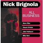 NICK BRIGNOLA All Business album cover