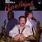 NICK BRIGNOLA Burn Brigade album cover