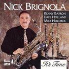 NICK BRIGNOLA It's Time album cover