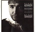 NIGEL KENNEDY Brahms  · The London Philharmonic · Klaus Tennstedt ‎: Violin Concerto album cover