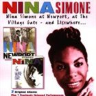 NINA SIMONE At Newport, at the Village Gate, and Elsewhere... album cover