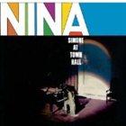 NINA SIMONE At Town Hall album cover