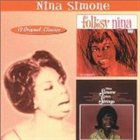 NINA SIMONE Folksy Nina / Nina With Strings album cover