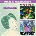 NINA SIMONE Forbidden Fruit / Nina Simone at Newport album cover
