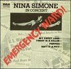 NINA SIMONE In Concert: Emergency Ward! album cover