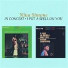 NINA SIMONE In Concert / I Put a Spell on You album cover