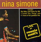NINA SIMONE Live at Ronnie Scott's album cover
