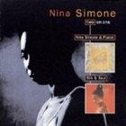 NINA SIMONE Nina Simone & Piano! / Silk & Soul album cover